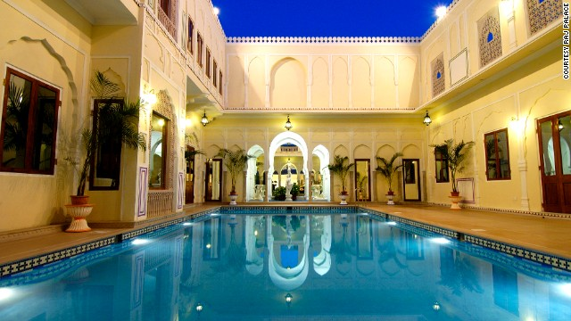 Visitors can choose from 29 unique bedrooms and take advantage of the hotel's luxury swimming pool, spa and dining areas.
