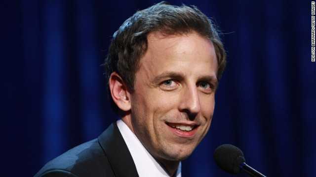"Seth <a href='http://www.cnn.com/2013/05/12/showbiz/seth-meyers-late-night/index.html'>Meyers will take over NBC's ""Late Night"" show</a> in 2014 when current host Jimmy Fallon moves to ""The Tonight Show."" Click through the gallery for highlights of Meyers' career:"