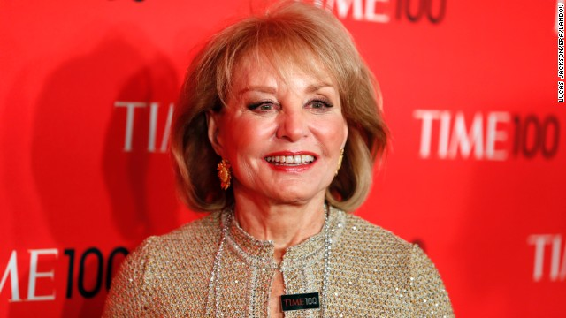 Longtime TV journalist Barbara Walters was born in Boston. After five decades in broadcast news, Walters has no shortage of major accomplishments to be proud of, including being the first network evening news anchorwoman when she moved to ABC in 1976. Earlier this year she announced that she will retire from television in 2014.