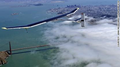 Solar plane to make history