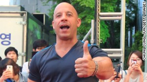 Vin Diesel: From struggling actor to A-list star
