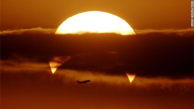 La Nasa capta una postal en el cielo