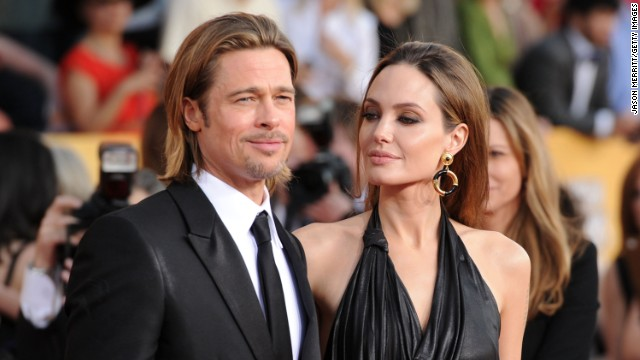 Pitt and Jolie appear at the 18th annual Screen Actors Guild Awards in Los Angeles in January 2012.