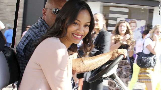 'Star Trek's' Zoe Saldana on racism: 'I'm not going to talk about it'