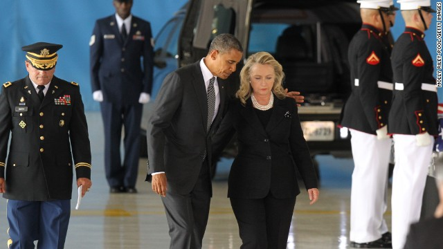 President Barack Obama and former Secretary of State Hillary Clinton came under intense scrutiny about the handling of the investigation of the attack on the U.S. Consulate in Benghazi, Libya, that led to the death of Ambassador Chris Stevens and three other embassy employees.