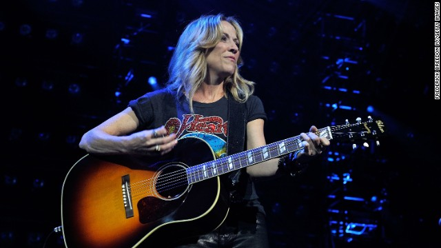 In 2006, singer Sheryl Crow underwent minimally invasive surgery for breast cancer. In 2012, she revealed she had a noncancerous brain tumor.