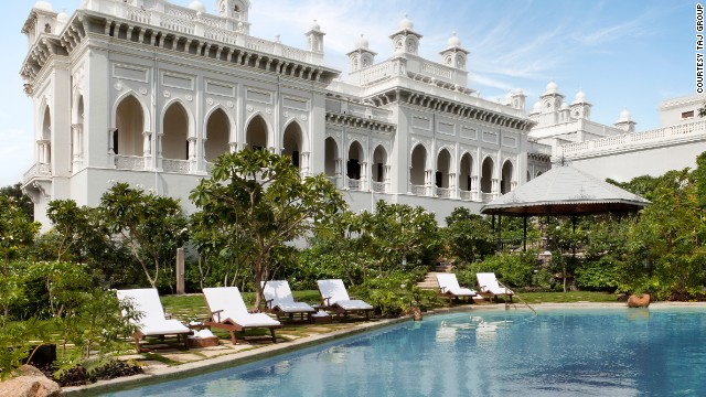 Another of the Taj Group's palatial Indian properties, Falaknuma Palace was once home to the seventh Nizam of Hyderabad.