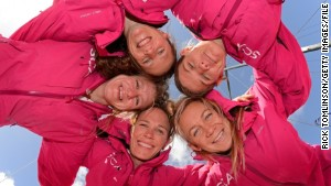 Will women sailors prove muscle in race?