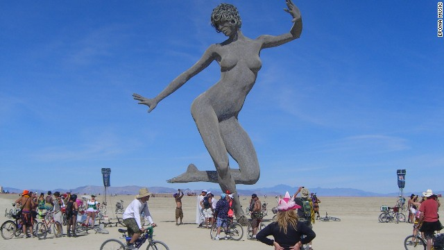 Someday, media roundups of colorful American spectacles won't include the annual Burning Man gathering in Black Rock, Nevada. But that won't be for a long, long time.