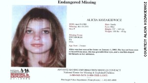 Alicia Kozakiewicz\'s missing poster