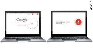 Google is adding voice-activated search to its Chrome browswers. To start a search say \