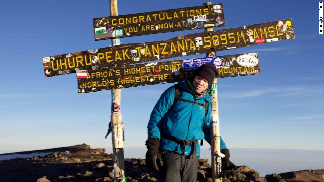 Born with albinism, Torner has a lack of skin color, poor vision and weakened strength. But he doesn't let any of that stop him from reaching his goals. In an effort to prove that albinos can achieve greatness, he climbed Kilimanjaro, Africa's tallest mountain.