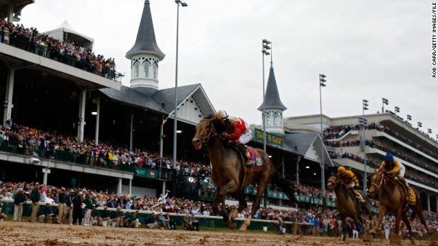 The 28-year-old stormed to victory at the Kentucky Derby earlier this month -- the first race in America's prestigious Triple Crown. Rosario is trying to become the first jockey in 11 years to take the treble.