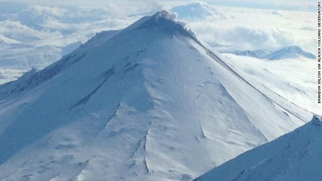 Alaska volcano spews ash 20,000 feet
