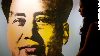 Andy Warhol pops up in China ... again