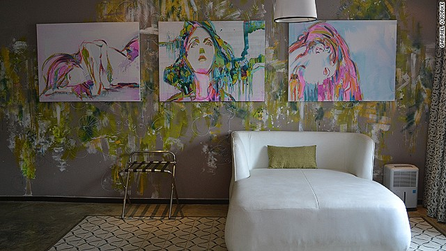The year-old Tantalo Hotel has brought a new sense of style to the capital. Each of its 12 rooms was designed by a different Panamanian artist. Designs range from gentle and flowery to seductive, with red and black walls and silver ceiling studs.