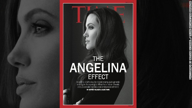 &quot;El efecto Angelina&quot; llega a la portada de la revista &quot;Time&quot; en EE.UU.