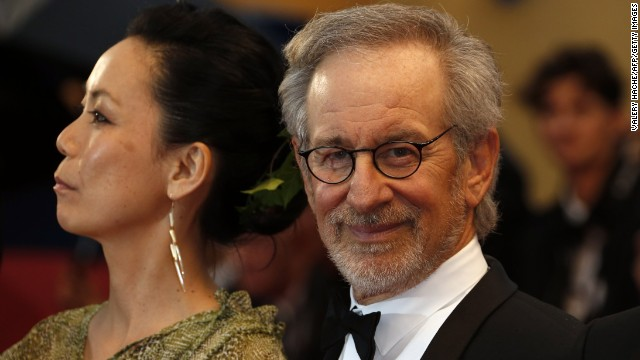 "Steven Spielberg at ""The Great Gatsby"" premiere."