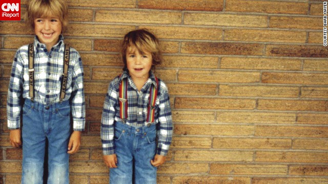 "The '80s saw the development of more <a href='http://ireport.cnn.com/docs/DOC-965234'>prewashed denims</a>, stone washing and other techniques to achieve a worn-out look. Jeans really were for everyone by then, from children to Brooke Shields, who famously proclaimed: ""<a href='http://www.youtube.com/watch?v=YK2VZgJ4AoM' target='_blank'>You wanna know what comes between me and my Calvins? Nothing.""</a>"