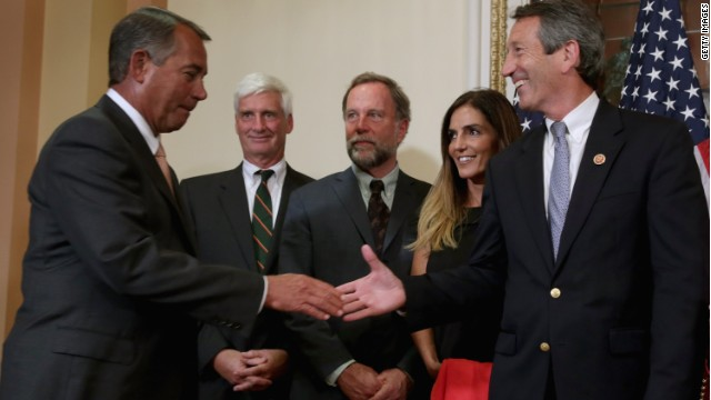 Back to the future for Mark Sanford