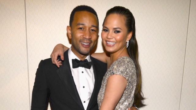 John Legend and Chrissy Teigen got married Saturday in Italy.