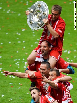 Bayern Munich won the German Bundesliga title by a margin of 25 points from second placed Borussia Dortmund, who have been champions in the two previous seasons. Bayern finished an incredible 36 points clear of fourth placed Schalke. Critics argue the dominance of both clubs could be bad for Germany's top tier, which they say is becoming too predictable.