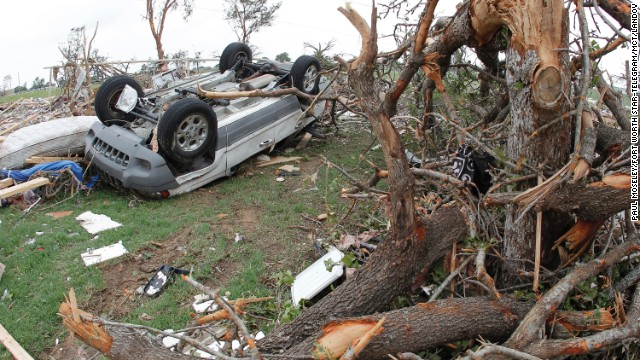 7 still missing from deadly Texas tornadoes