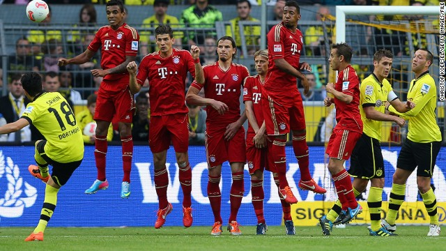 As well as domestic dominance, both clubs are excelling in European competition. Germany's top two -- Bayern and Dortmund -- will contest the Champions League final at Wembley on May 25.