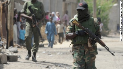 10 terror suspects dead in Nigeria