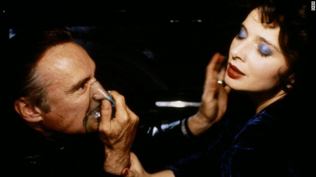 "The story goes that Dennis Hopper was dead set on playing the profane and sociopathic Frank Booth in 1986's ""Blue Velvet"" because, as he reportedly told writer/director David Lynch, he was Frank."