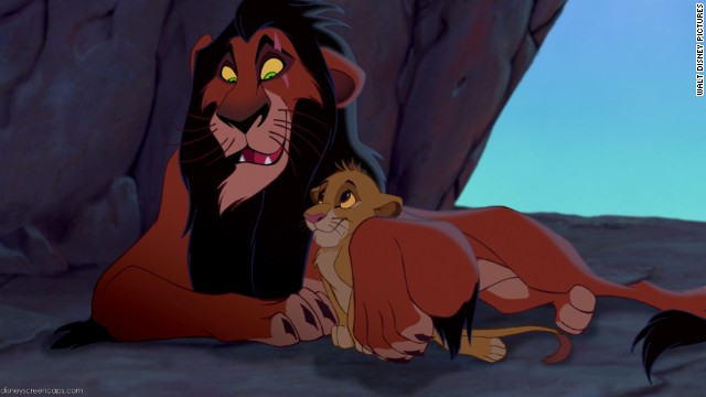 "Disney movies have a plethora of fantastically drawn (literally and figuratively) villains, but Scar in 1994's ""The Lion King"" is a standout. Voiced by Jeremy Irons, Scar makes for a satisfying evil (and pretty entertaining) uncle."