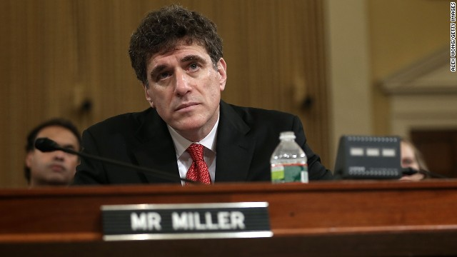 Steve Miller, former acting commissioner of the IRS, testifies before the House Ways and Means Committee in May 2013. The committee held a hearing to examine revelations that the IRS singled out for scrutiny conservative groups seeking tax-exempt status.