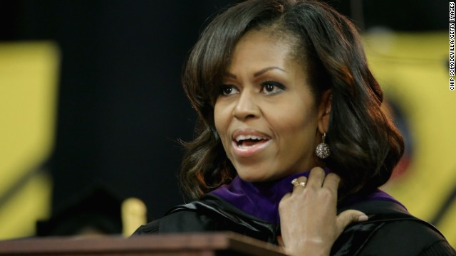 Michelle Obama challenges black youth priorities