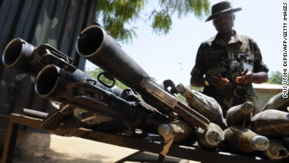 Nigerian insurgents face huge offensive