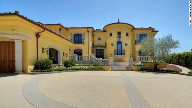 Kim Kardashian and Kanye West paid $11 million for this <a href='http://luxe.truliablog.com/2013/01/08/kim-kardashian-and-kanye-west-buy-house/' target='_blank'>home in Bel Air</a>.