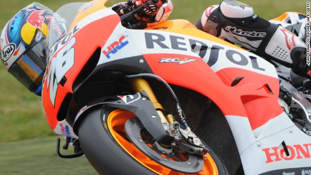 Dani Pedrosa was in dominant form again on his Repsol Honda to win a second straight championship round.