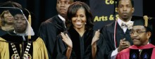 First lady challenges black youth priorities