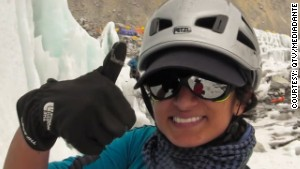 First Saudi woman summits Mount Everest