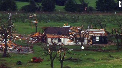 Tornadoes sweeping Midwest