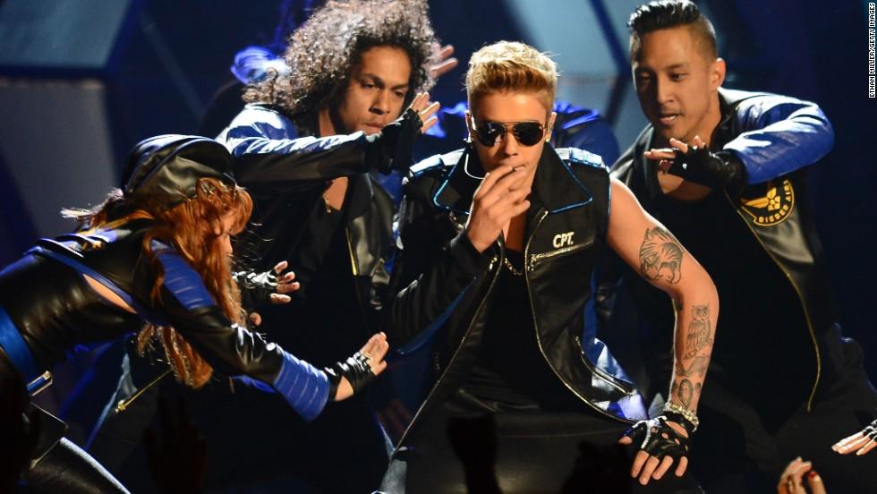 Las mejores imágenes de los Billboard 2013