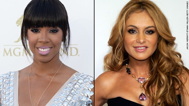 Kelly Rowland, Paulina Rubio in talks for 'X Factor'