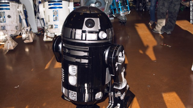 "The Bay Area <a href='http://astromech.net/' target='_blank'>R2 Builders Club</a> shows off some of its best homemade versions of R2-D2, the robot from ""Star Wars."""