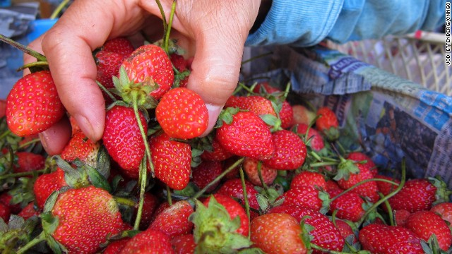 National strawberry picking day
