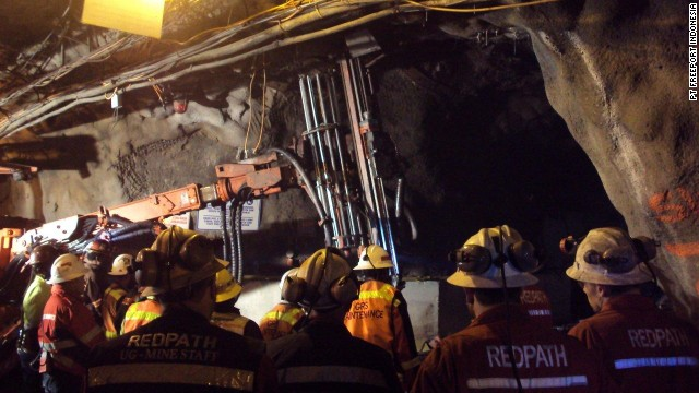 At least 21 dead in tunnel collapse...