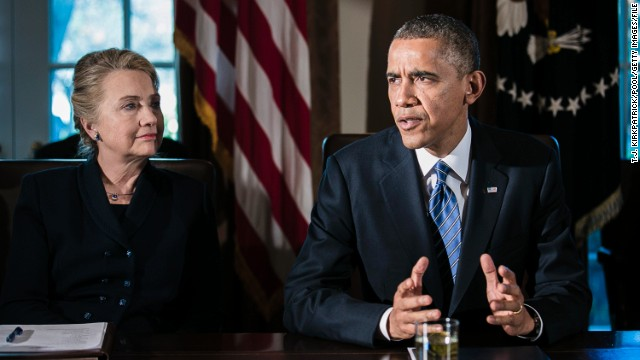 Obama, Clinton have 'informal, private' White House lunch