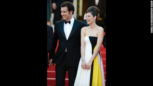 "Clive Owen and Marion Cotillard attend the ""Blood Ties"" premiere on May 20."