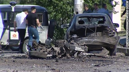 8 dead, 20 hurt in Dagestan bombing