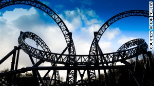 The Smiler is as sinister as a roller coaster can get.