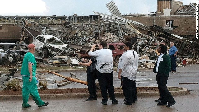 Oklahoma City tornado: Get the latest developments in this disaster