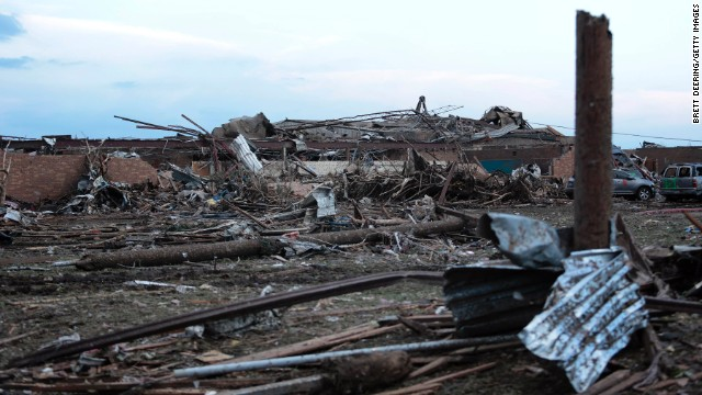 TERRIBLE TORNADO DEVASTATES OKLAHOMA!